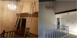 before after painting